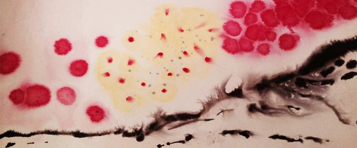 Maltherapie Gestaltungstherapie Kreativtraining Wien Ute Riedlmair Hintergrundbild Sinnbild