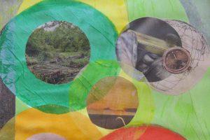 Maltherapie Gestaltungstherapie Kreativtraining Wien Ute Riedlmair Collage Kreativität