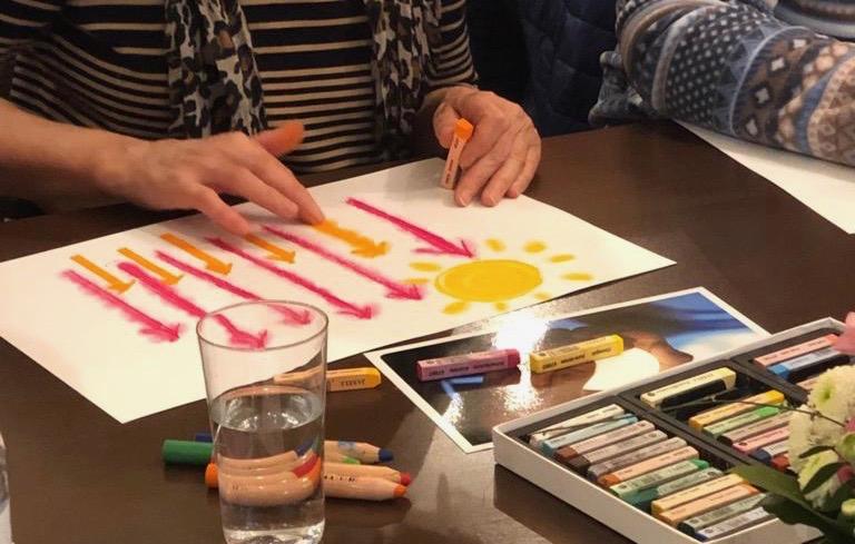 Kunsttherapie, Mal- und Gestaltungstherapie
